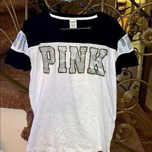 Large Victoria's Secret Pink T-shirt